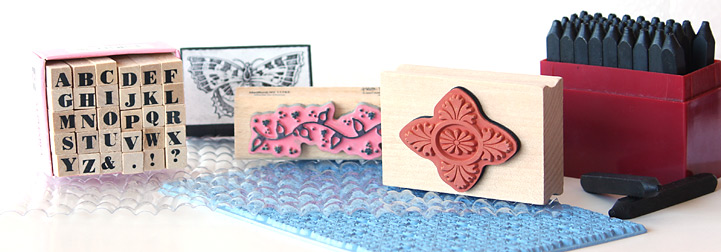 Texturizers and Stamps for Polymer Clay
