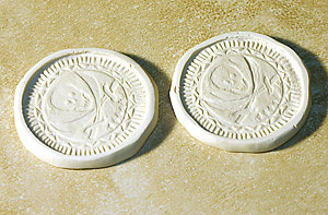 polymer clay coins